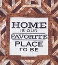 No Sew Fleece Throw 72\u0022-Home Is Our Favorite