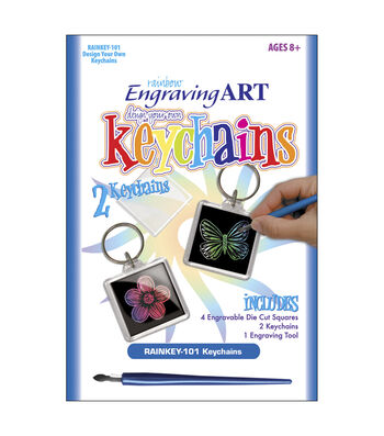 Royal Brush Engraving Art Design Your Own Rainbow Kit-Keychain