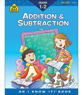 School Zone Curriculum Workbooks-Addition & Subtraction