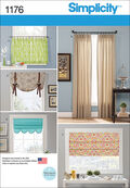 Simplicity Pattern 1176OS One Size -Home Decor