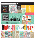 Me&My Big Ideas Mambi Quoted Paper Pad 12\u0022x12\u0022