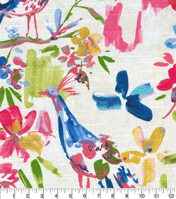 Kelly Ripa Home Multi-Purpose Decor Fabric 54''-Confetti Flora Flaunt