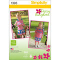 Simplicity Pattern 1393A 1/2-1-2-3--Toddlers Sportswear