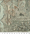 Home Decor 8\u0022x8\u0022 Fabric Swatch-Waverly Historic Piece Silver