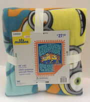 Minions Groovy Day No Sew Throw, , hi-res