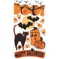 Boo -vellum Stickers