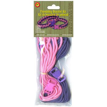 Pepperell Braiding Parachute Cord Project Kit Girl's Friendship Bracelet