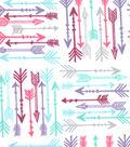 Snuggle Flannel Fabric -Gypsy Arrows
