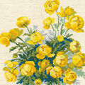 RIOLIS 7.75\u0027\u0027x7.75\u0027\u0027 Counted Cross Stitch Kit-Globe Flower