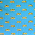 DC Comics Batman Cotton Fabric-Classic Comic Logo