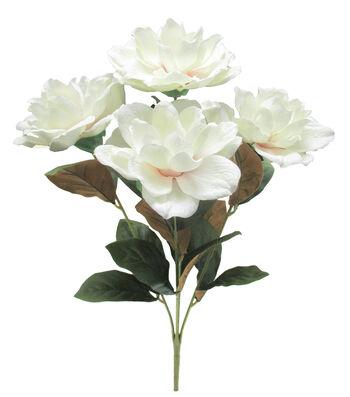 Fresh Picked Spring 21'' Magnolia Bush-White