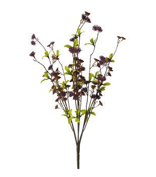 Blooming Autumn Mini Flower Bush-Purple