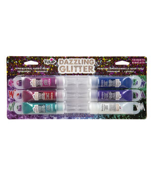 Tulip Dazzling Glitter Dimensional Fabric Paint