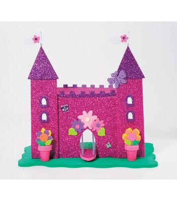 3D Foam Kit - Glittery Princess Castle