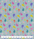 Snuggle Flannel Fabric-Narwhal & Donuts Party