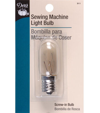 Dritz Sewing Machine 15W Light Bulb With Screw-In Base