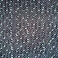 Apparel Knit Fabric 57\u0027\u0027-Gray Basket Weave on Navy