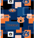 Auburn University Tigers Cotton Fabric 43\u0022-Logo