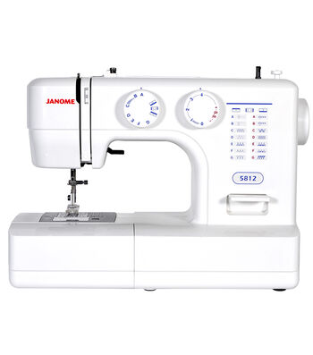 Janome 5812 Easy-to-Use Sewing Machine