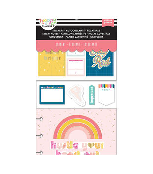 Happy Planner Note Cards/Sticky Note Multi Pack-Stay Rad (student)