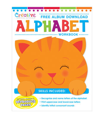 Creative Teaching Materials Workbook-Alphabet