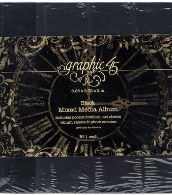 Graphic 45 Staples Mixed Media Album