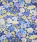 Premium Cotton Fabric-Remi Flowers