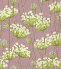 Home Decor 8\u0022x8\u0022 Fabric Swatch-HGTV HOME Fully Laced Quartz