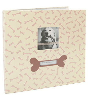 "MBI Pet Post Bound Album w/Window 12""X12""-Dog"