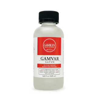 Gamblin 4.2 fl. oz. Gamvar Satin Picture Varnish
