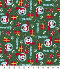 Holiday Cotton Fabric -Frosty the Snowman