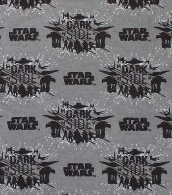 "Star Wars™: The Last Jedi Flannel Fabric 42""-Dark Side"