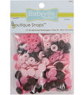 Babyville Boutique Snaps Mod Girl Flowers