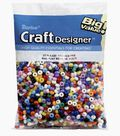 Big Value Pony Beads-5MM Assorted