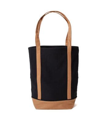 Canvas Tote Bag-Black
