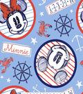 Disney Mickey & Minnie Mouse Fleece Fabric 59\u0027\u0027-Nautical at Sea