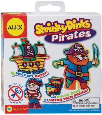 Alex Toys Shrinky Dinks Kits-Pirates
