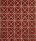 Home Decor 8\u0022x8\u0022 Fabric Swatch-Jaclyn Smith Tasty Cardinal