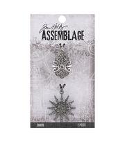 Tim Holtz Assemblage 2 Pack Sunburst & Emblem Charms, , hi-res