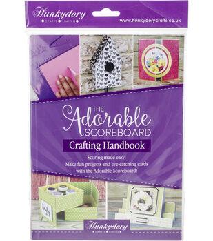 Hunkydory Adorable Scoreboard Crafting Handbook-Vol. 1
