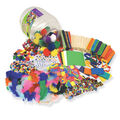 Creativity Street Colossal Barrel of Crafts, Assorted Colors and Sizes