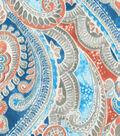 Kelly Ripa Home Outdoor Fabric-Pretty Witty Lagoon