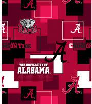 University of Alabama Crimson Tide Cotton Fabric 43''-Modern Block, , hi-res