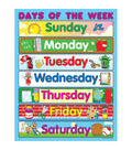 Carson-Dellosa Days of the Week Chart 6pk