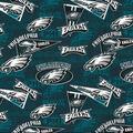 Philadelphia Eagles Cotton Fabric-Retro
