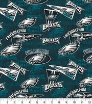 Philadelphia Eagles Cotton Fabric-Retro, , hi-res