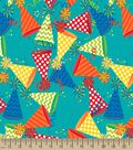 Party Hats Print Fabric