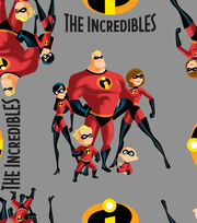 Disney Incredibles 2 Fleece Fabric 59''-Family, , hi-res