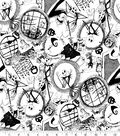 Nightmare Before Christmas Halloween Knit Fabric 58\u0022-Tossed World