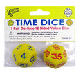 Koplow Games 12-Sided Time Dice AM, 2 Per Set, 6 Sets